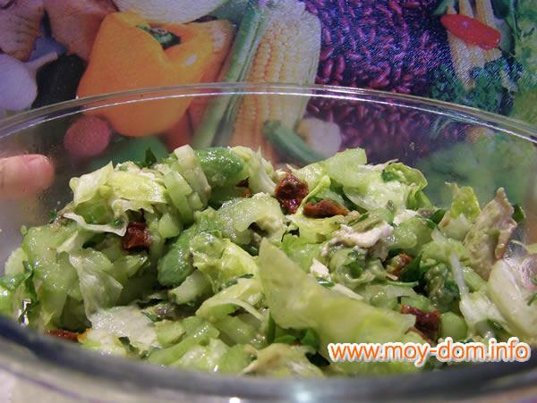 салат с черешковым сельдереем рецепты фото