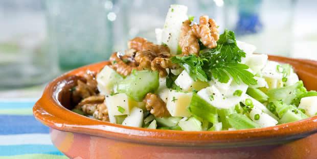Салат с сельдереем с фото простые