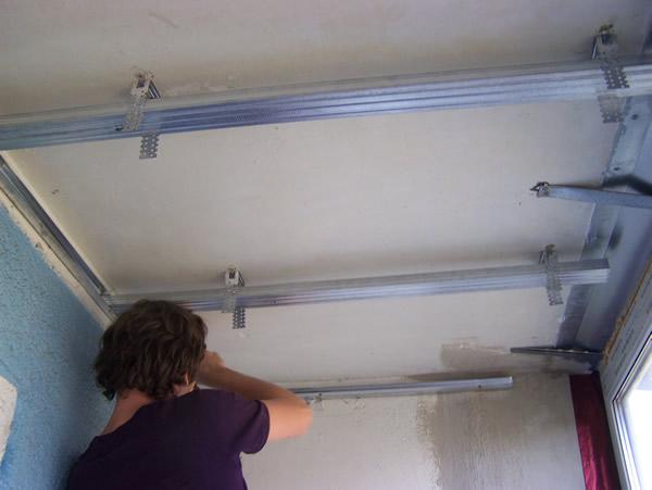 Утеплить потолок балкона своими руками 114