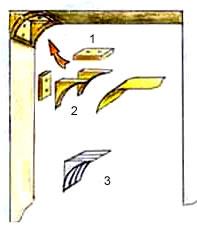 Закругление углов арки