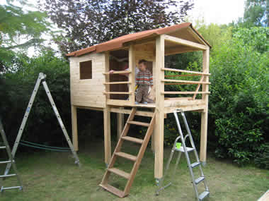 - Comment faire une cabane avec des palettes ...