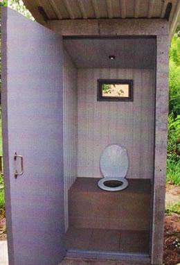 Своими руками туалет из дверей