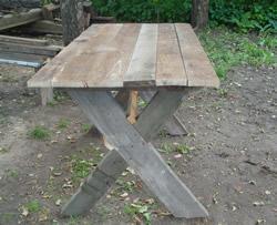 Сделать стол для дачи своими руками