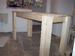 Стол для кухни своими руками фото