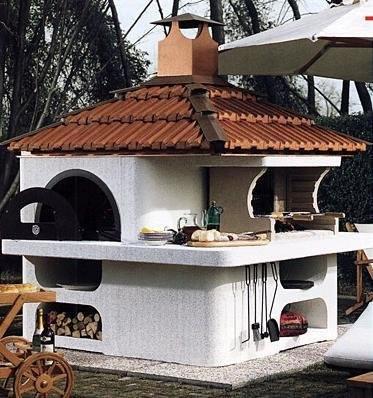 Барбекю для сада из камня домашний напстольный электрический барбекю