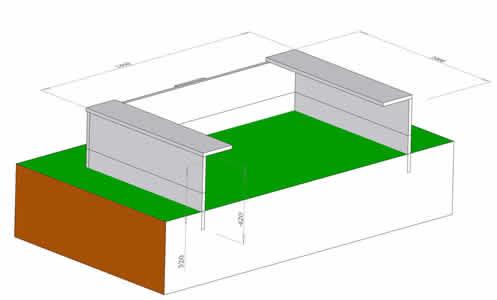 Как сделать песочницу из бумаги 3 класс технология